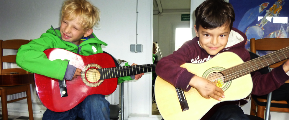 Gitarrenunterricht Kinder